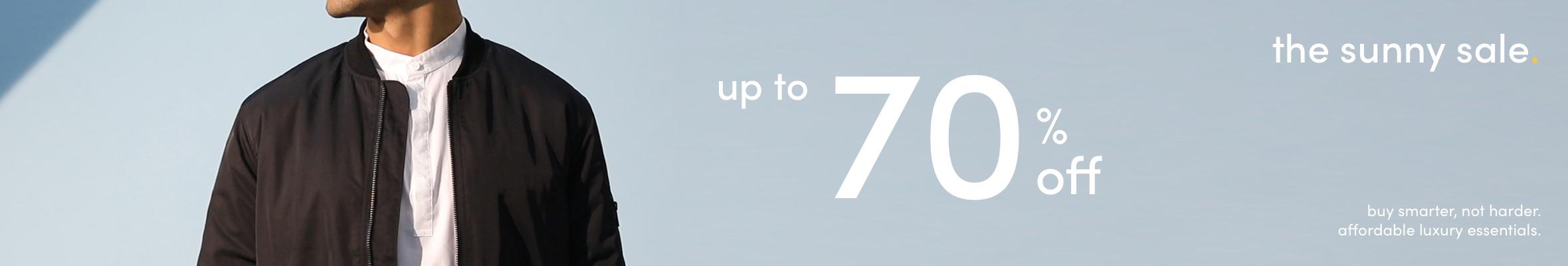 mens sunny sale 70