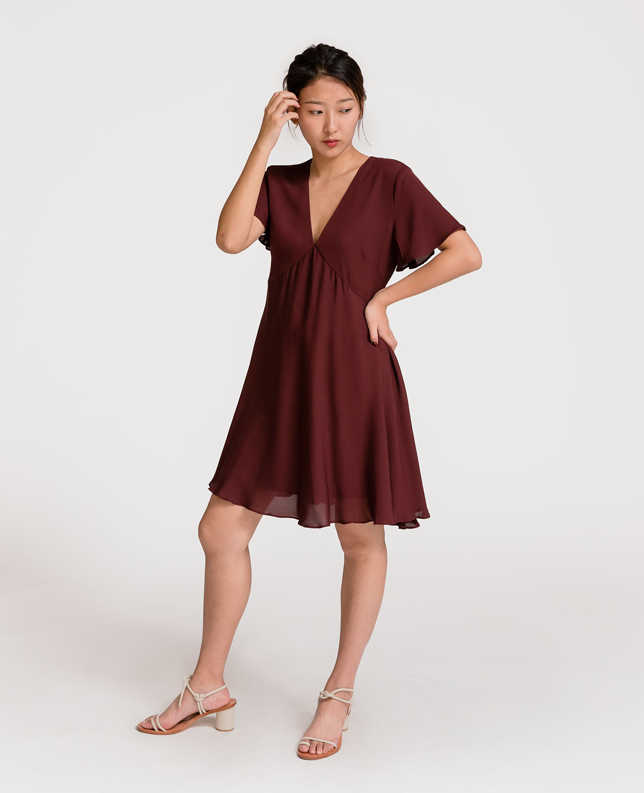 Silk Tea Dress