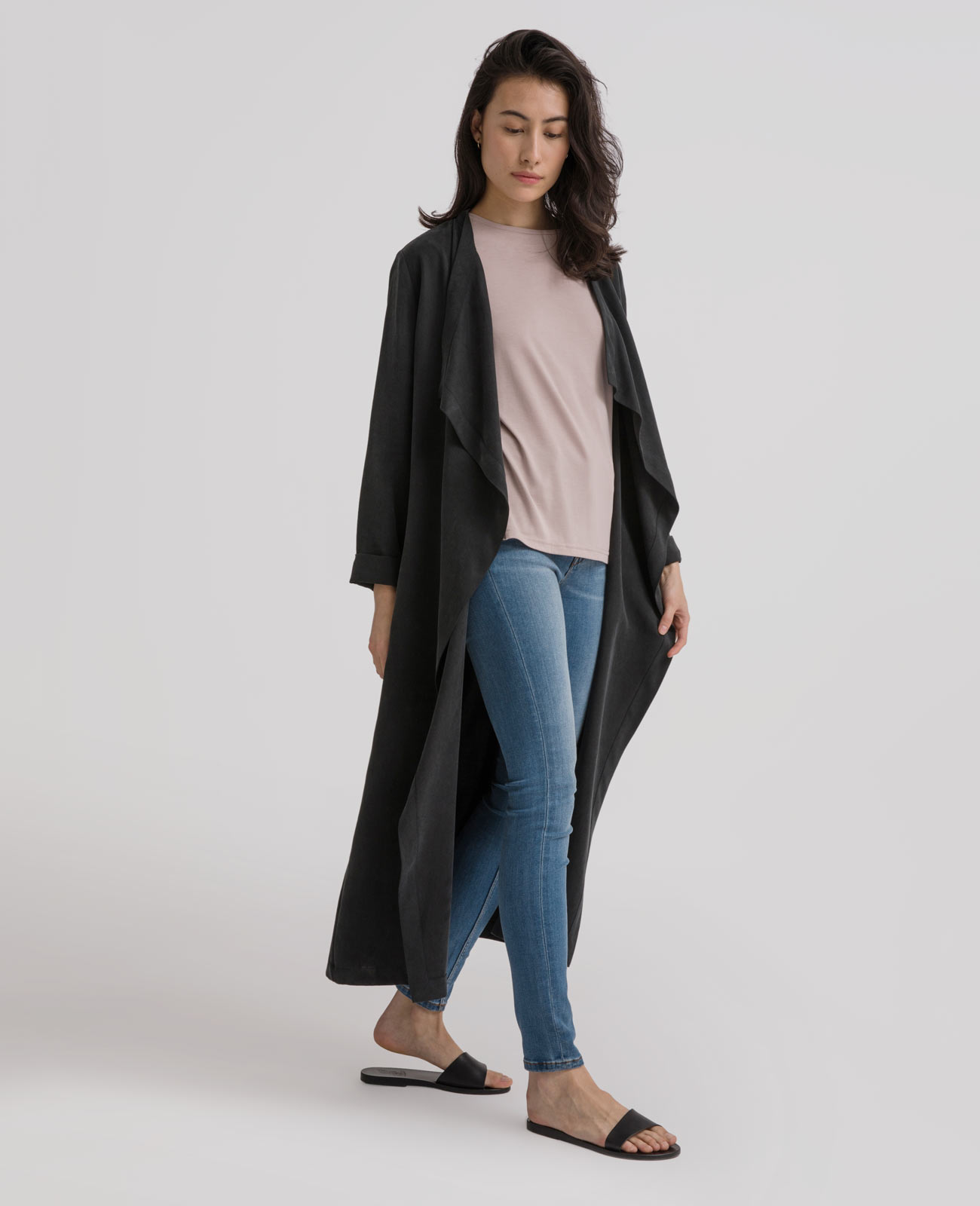 Womens Tencel Duster