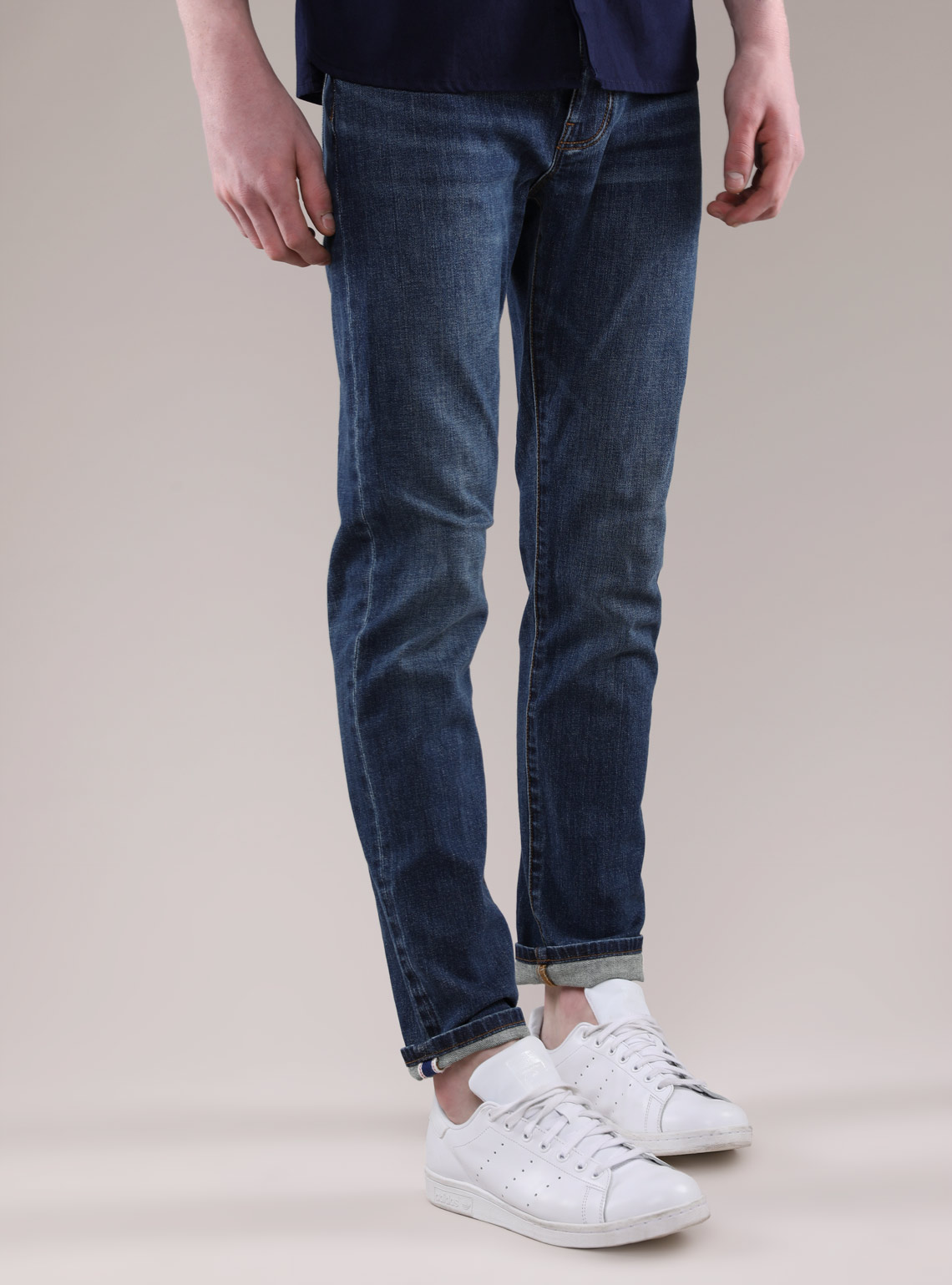 Men's Japanese Denim Slim Jeans