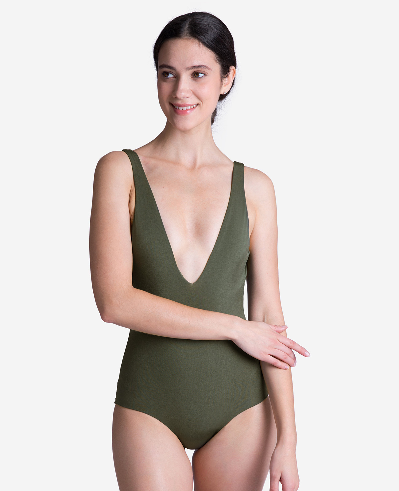 Women's Deep V Swimsuit