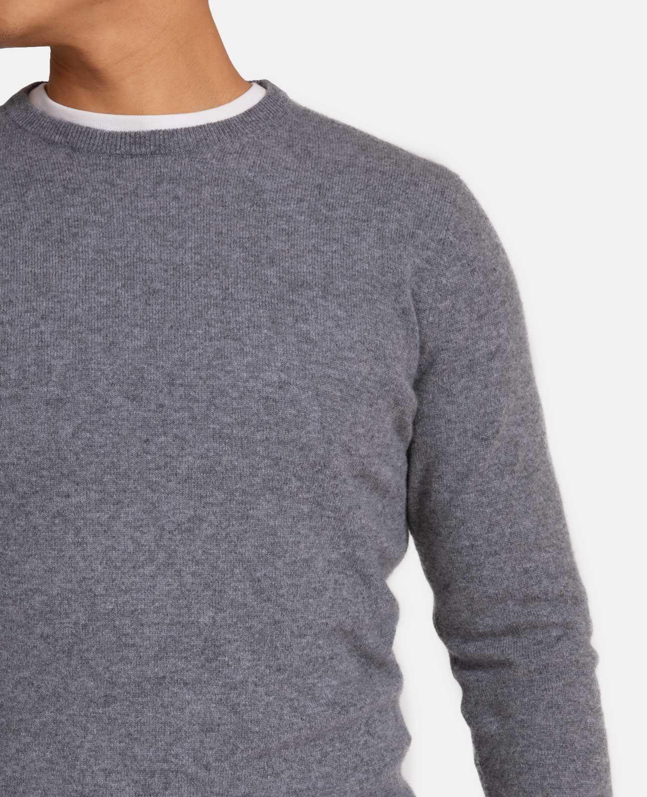 ccff8470 Mongolian Cashmere Crew Neck Sweater | Grana