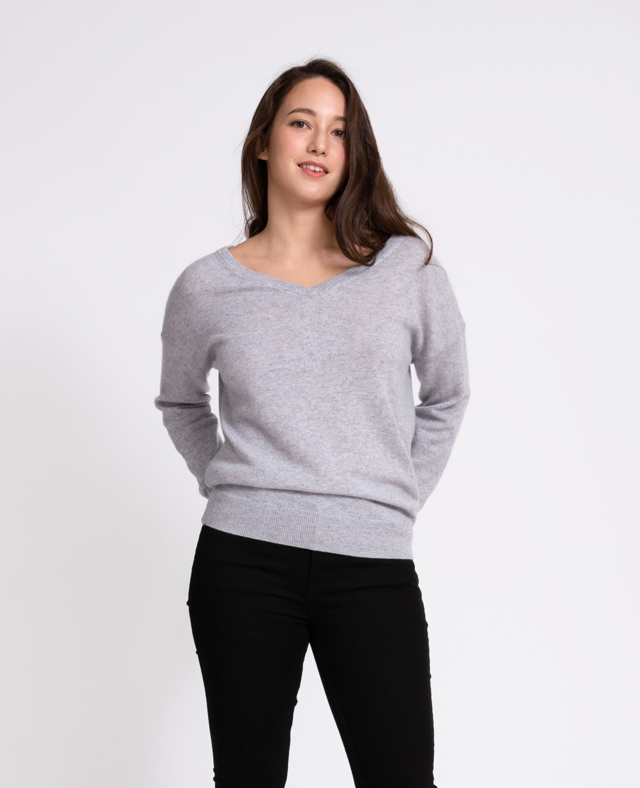 Beautiful Express Womens V-neck Sweater Size Xs Sweaters Women's Clothing