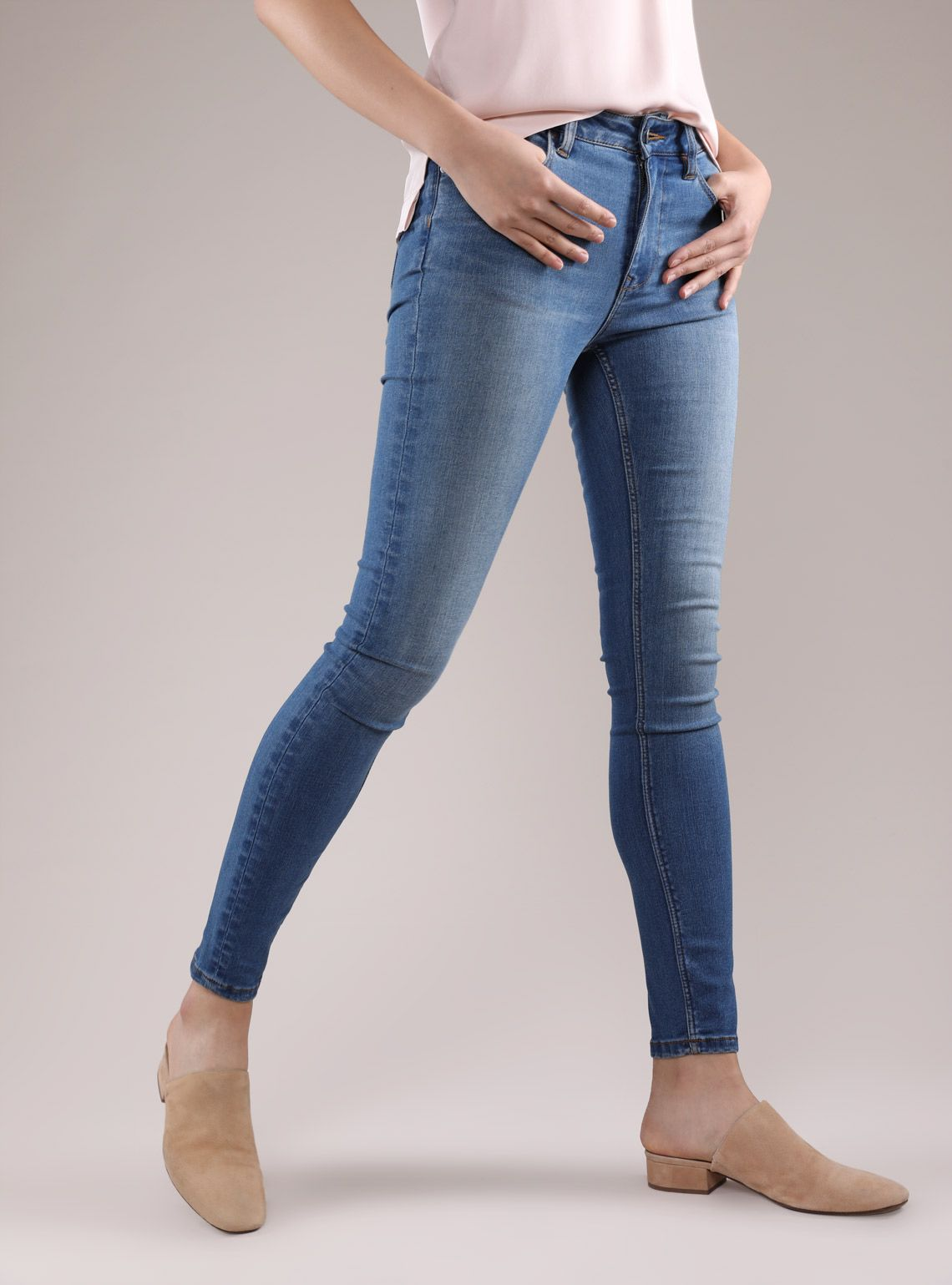 Mid Rise Skinny Jeans |