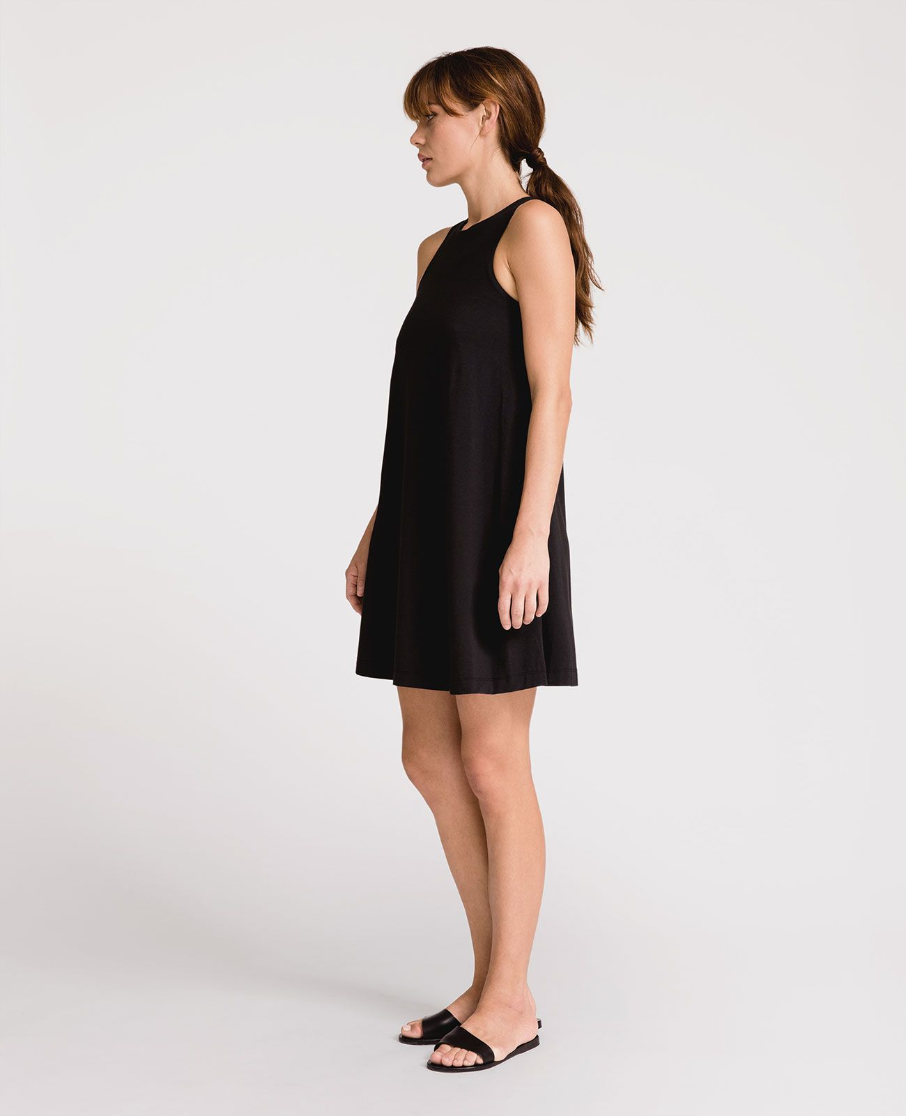 aca906808 Peruvian Pima Cotton Trapeze Dress | Grana