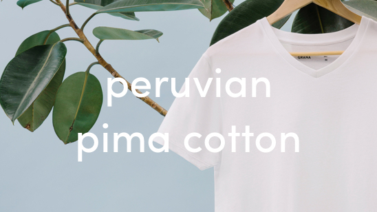 peruvian pima cotton